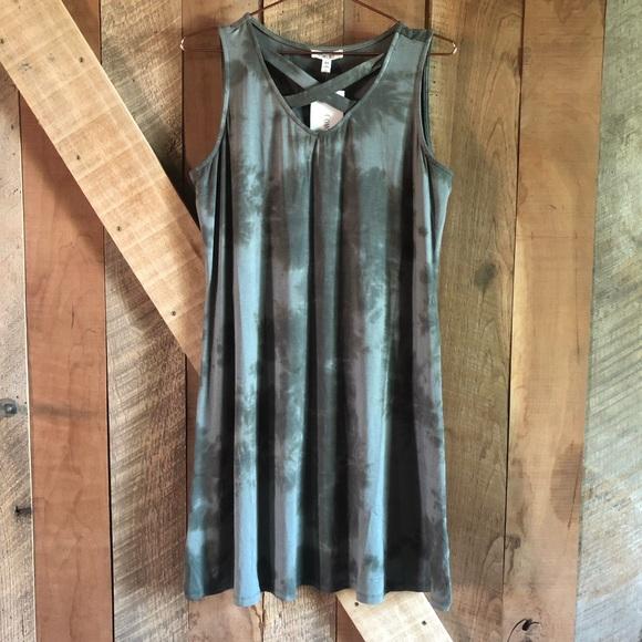 como blu Dresses & Skirts - (NWT) Como Blu | Tie Dye Strappy Shift Dress